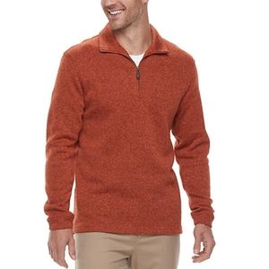 NWT Haggar Classic-Fit Sweater Fleece Small